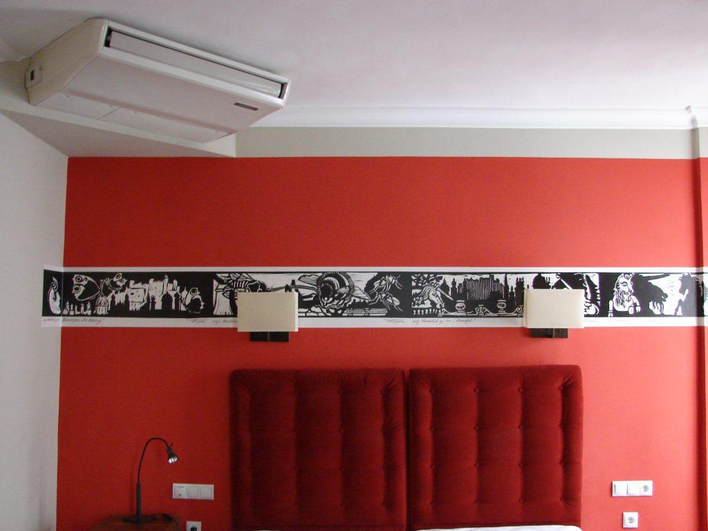 Hotel Elefant Franz Riegersperger Fototapete Hommage an Salzburg Buchbinderei Stundner (3a)