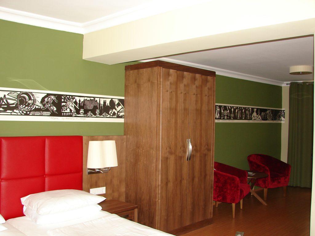 Hotel Elefant Franz Riegersperger Fototapete Hommage an Salzburg Buchbinderei Stundner (4a)