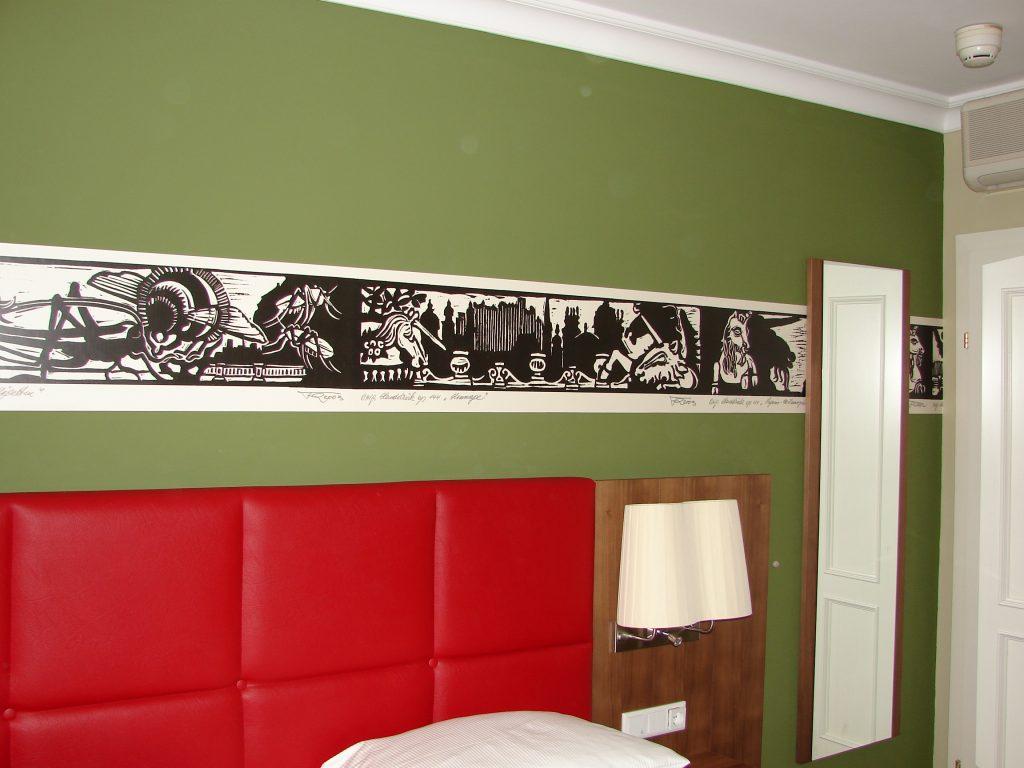 Hotel Elefant Franz Riegersperger Fototapete Hommage an Salzburg Buchbinderei Stundner (5a)