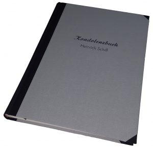 Kondolenzbuch Buchbinderei Stundner