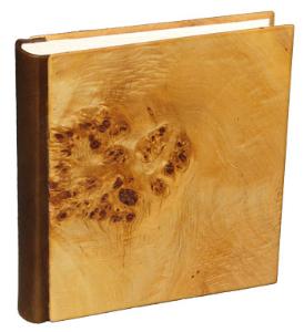 Buch Holzeinband