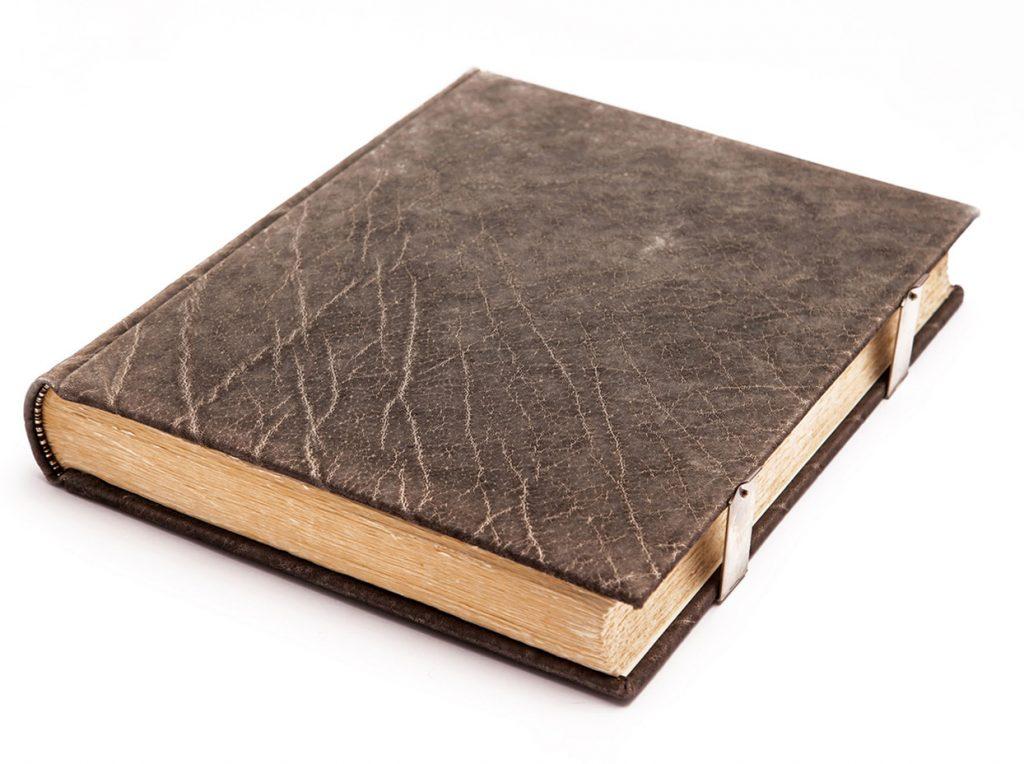 gaestebuch in elefantenleder 01 echt silber buchschliesse buchbinderei stundner salzburg