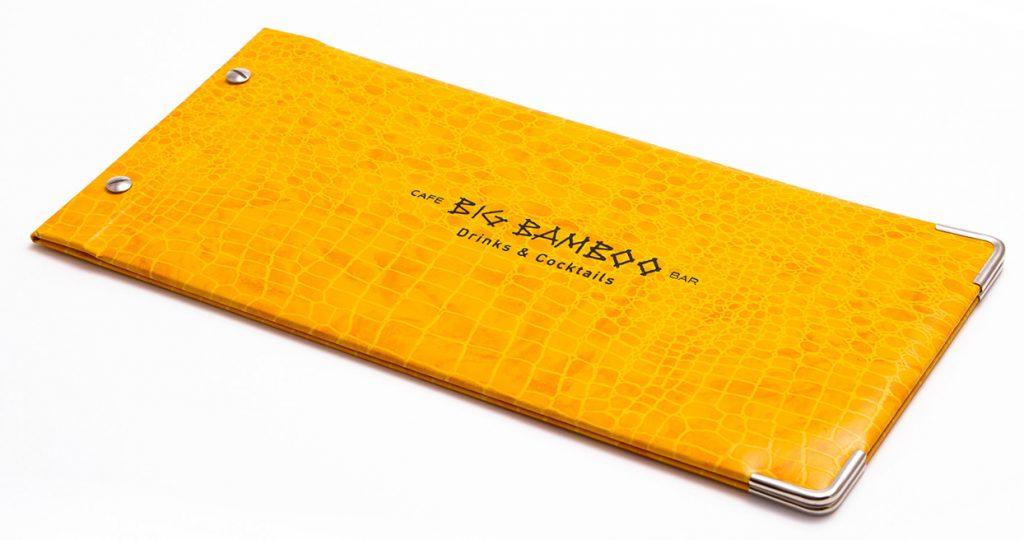 speisekarten big bamboo weinkarten getraenkekarten hotolzubehoer gasthaus holzspeisekarten zirbenholz holz buchbinderei stundner salzburg